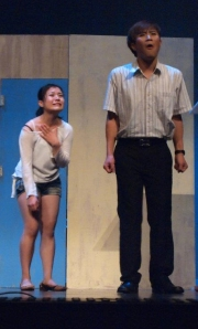 Lead Actors in Tat's Play - Won Best Actress and Best Actor